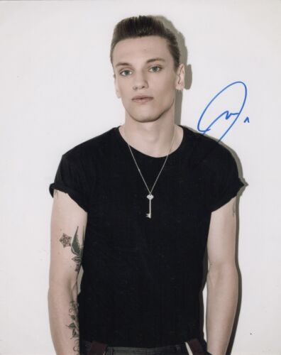 Jamie Campbell Bower Autographed Signed 8x10 Photo COA CB2