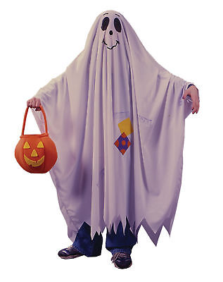 Kids Friendly Ghost Costume (Friendly Ghost Robe Child Costume Halloween Fancy Dress Up)