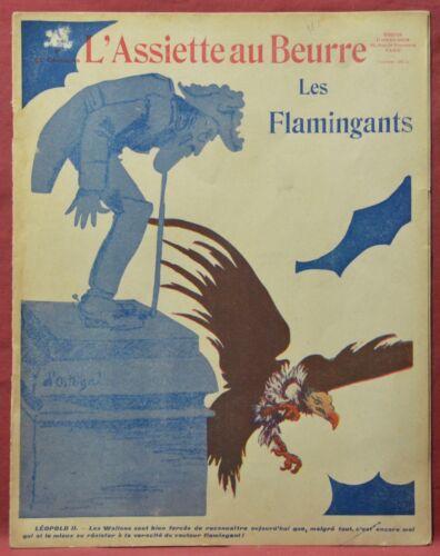Assiette au Beurre N˚533  17 Juin 1911  Les Flamingants par d