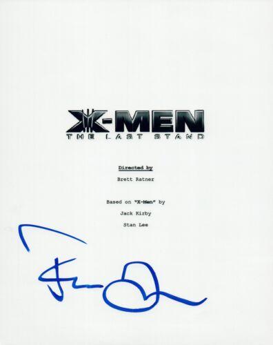 Famke Janssen Signed Autographed X-MEN THE LAST STAND Movie Script COA VD