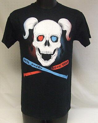 Harley Quinn Suicide Squad Good Night Baseball Bat Skull T-Shirt Size Medium NWT