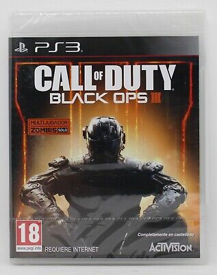 CALL OF DUTY BLACK OPS 3 PLAYSTATION 3 PS3 PLAY STATION PAL...