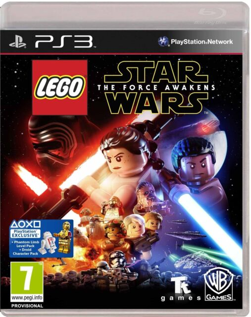 Lego Star Wars - The Force Awakens For PAL PS3 (New & Sealed)