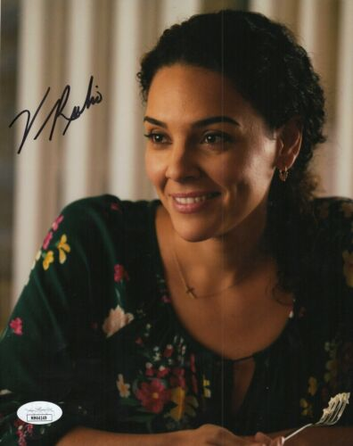 "Vanessa Rubio Autograph Signed 8x10 Photo - Cobra Kai ""Carmen"" (JSA COA)"