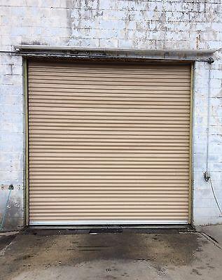 Durosteel Janus 12x14 Commercial 1000i Series Insulated Roll-up Door Direct