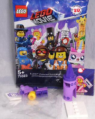 LEGO Minifigur 71023 THE LEGO® MOVIE 2 # 5 Wachsmalstift Mädchen Kostüm NEU