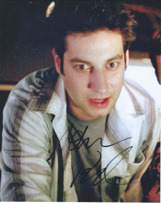 Adam Busch Signed Autographed 8x10 Photo Men at Work Buffy the Vampire Slayer B