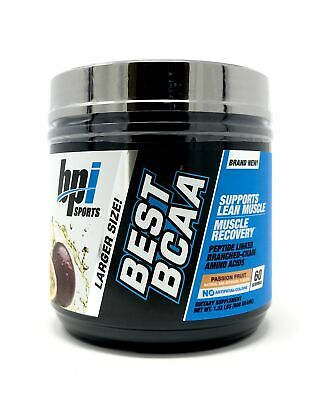 BPI Sports Best BCAA Branched Chain Amino Acids 60 Servings Passion