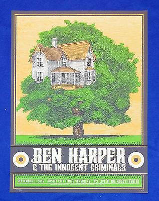 Ben Harper - Austin TX 2016 S/N /300 ACL Justin Helton Status Serigraph Poster