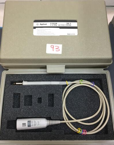 Agilent HP 1152A Active Oscilloscope Probe 2.5GHz
