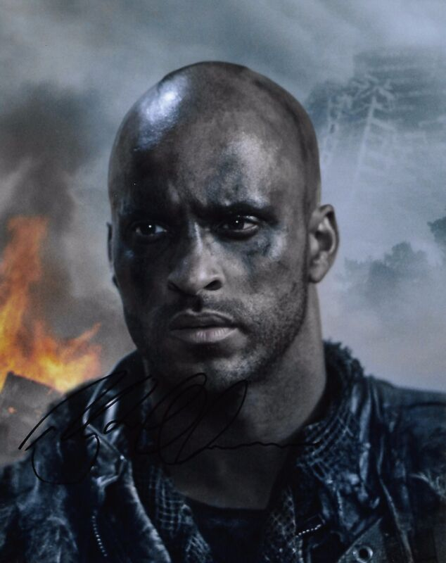 Ricky Whittle The 100 Autographed Signed 8x10 Photo COA #A7