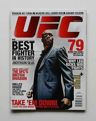 UFC MAGAZINE MMA THE BEST FIGHTER IN HISTORY ANDERSON SILVA