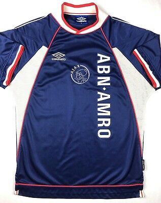 Umbro AJAX AMSTERDAM 1999/2000 M Away Soccer Jersey Football Shirt AFC Holland Ajax Away Jersey