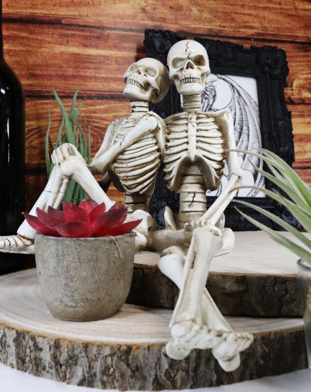 Ebros Day Of The Dead Eternity Skeleton Lovers Couple Shelf Sitters Ledge