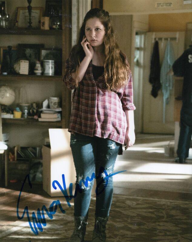 EMMA KENNEY signed *SHAMELESS* 8X10 photo DEBBIE DEBS GALAGHER (PROOF) W/COA #6