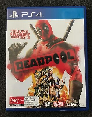 Mint Disc Playstation 4 Ps4 Deadpool Dead Pool - Free Postage