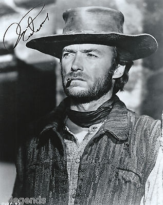 """Clint Eastwood  Autographed 8""""x10""""  Photo Copy """"Two Mules For Sister Sarah"""" X-08"""