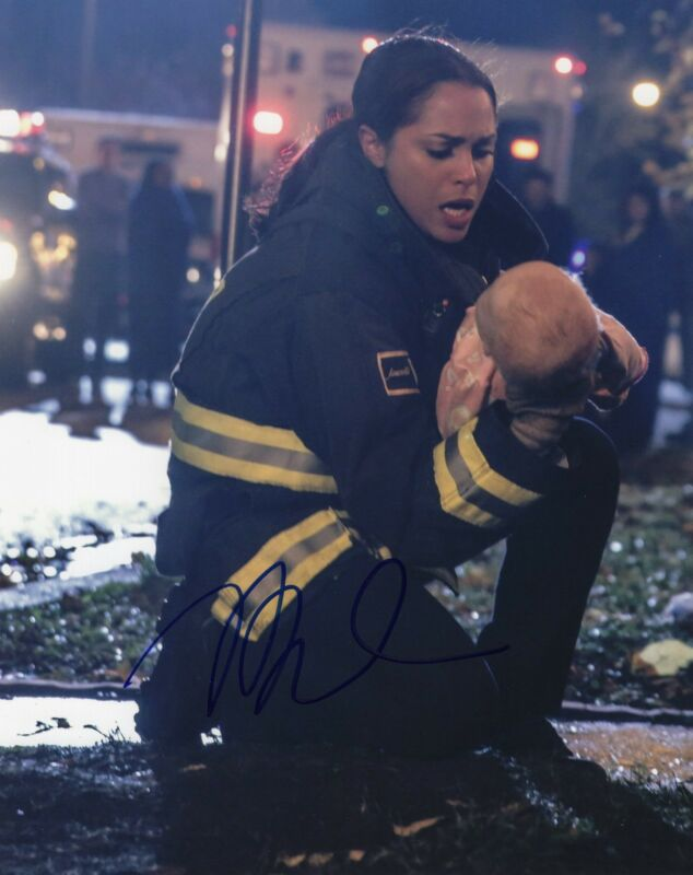 Monica Raymund signed 8x10 Photo w/COA Chicago Med P.D. Gabriela Dawson
