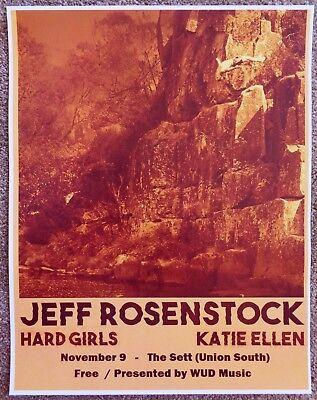 JEFF ROSENSTOCK 2016 Gig POSTER Madison Wisconsin Concert