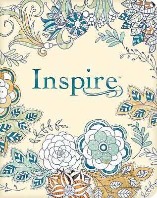 NLT Inspire Bible: The Bible for Creative Journaling