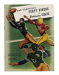 Colts-Vs-49ers-Program-1953