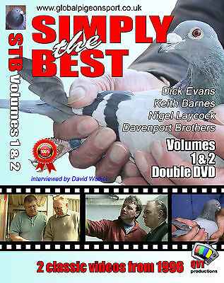 Simply The Best 1&2 Racing Pigeon DVD 1996 classics