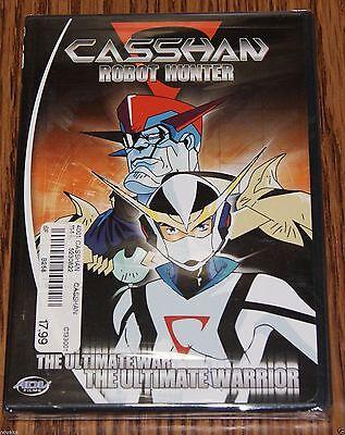 War Robot - Casshan: Robot Hunter DVD, 2003 The Ultimate War The Ultimate Warrior BRAND NEW