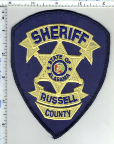 Russell County Sheriff (Alabama) 2nd Issue Shoulder Patch