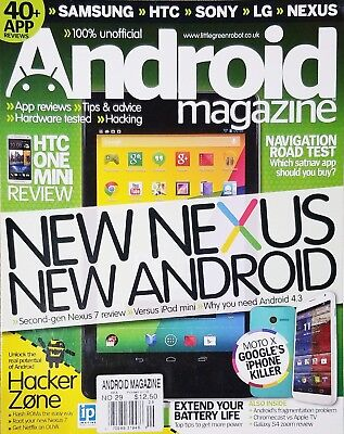 Android Magazine - ANDROID MAGAZINE,     NEW NEXUS NEW ANDROID    ISSUE NO. 29^