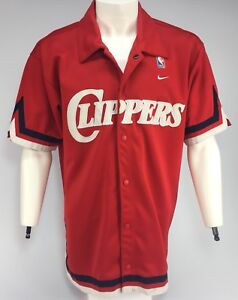 NBA LA Clippers warm up shirt shooting jersey NIKE basketball