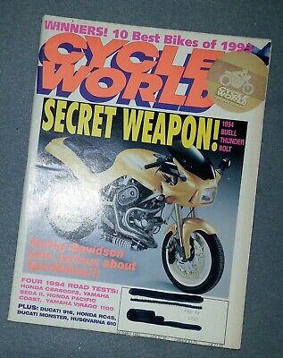 Cycle World Magazine - October 1993 Winners! 10 Best Bikes of