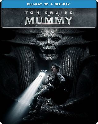 The Mummy  Steelbook   Blu Ray 3D   Blu Ray   2017   3D 2D   All Region   New