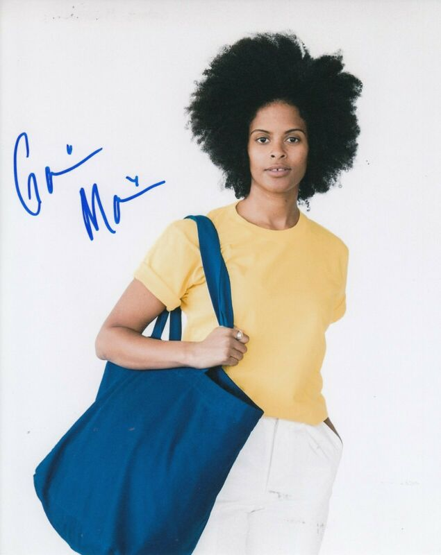 GABRIELLE MAIDEN signed (STRANGER THINGS) TV SHOW 8X10 photo *Mick* W/COA #4