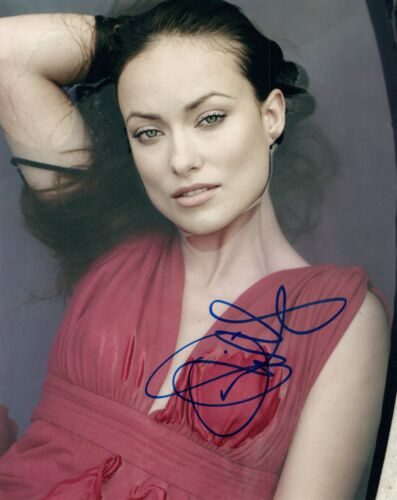 Olivia Wilde Signed Autographed 8x10 Photo Hot Sexy Actress COA VD
