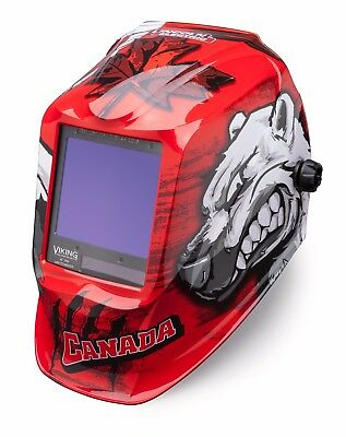 Lincoln Electric Viking 3350 Polar Arc Auto-darkening Welding Helmet K3255-3