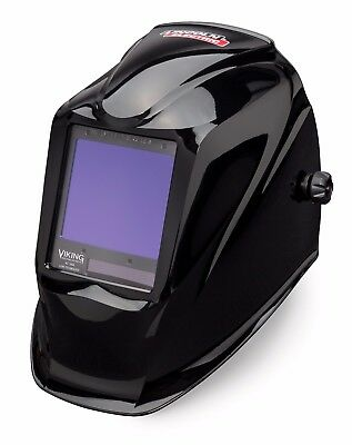 Lincoln Electric Viking 3350 Black Auto-darkening Welding Helmet K3034-3