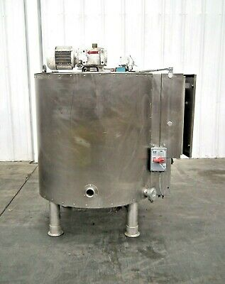 Mo-3045 Stainless Steel 160 Gallon Jacketed Mix Tank