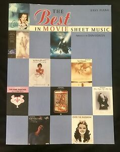 Easy Piano Book Movie Sheet Music