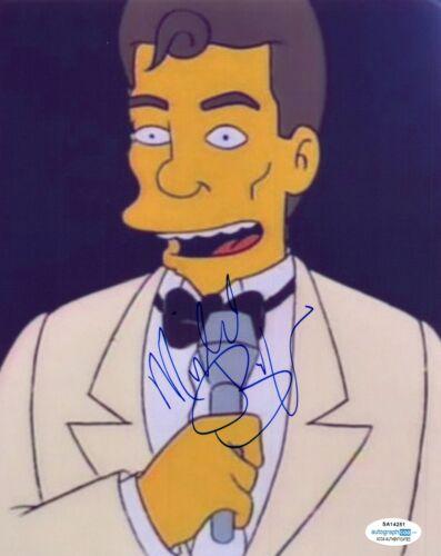Michael Buffer Signed 8x10 Photo Boxing Announcer The Simpsons ACOA COA
