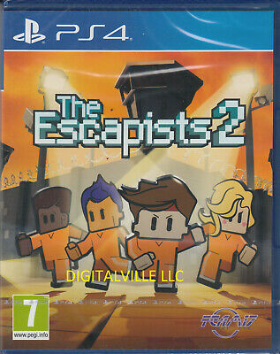 The Escapists 2 PS4 Sony PlayStation 4 Brand New Factory Sealed