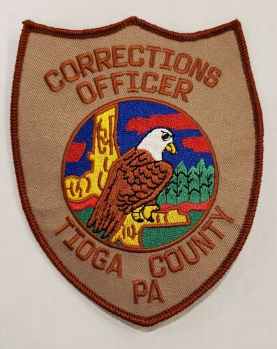Tioga County PA Corrections Officer Patch