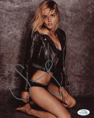 Samara Weaving Sexy Ready or Not Autographed Signed 8x10 Photo ACOA 2020-7