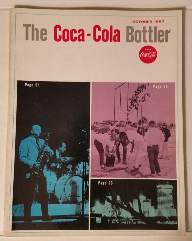 THE COCA-COLA BOTTLER - VINTAGE MAGAZINE - OCT. 1967