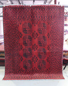 ★NEW PERSIAN RUG★ 2.0x1.5m FINE WOOL AFGHAN TRIBAL BOHKARA HANDKNOTTED CARPET