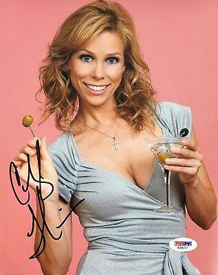 Cheryl Hines Signed 8X10 Photo Psa Dna Coa Autograph Ad90727