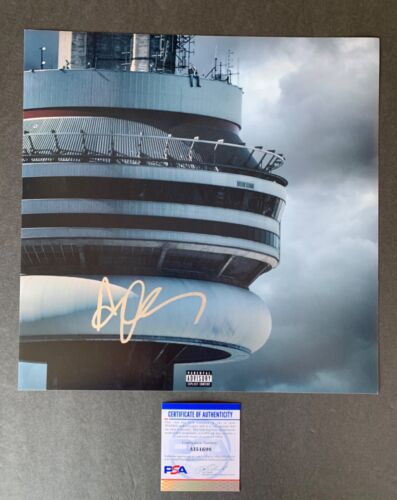 Drake Signed Autographed Views 12x12 Album Photo with PSA/DNA COA