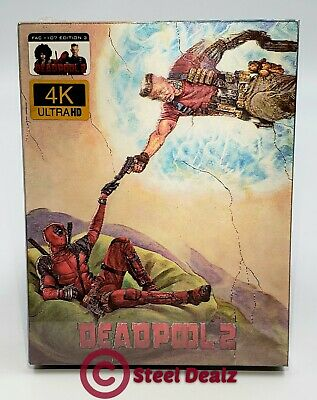 DEADPOOL 2 [4K UHD +2D+ SUPER DUPER CUT]  BLU-RAY STEELBOOK [FILMARENA] #048