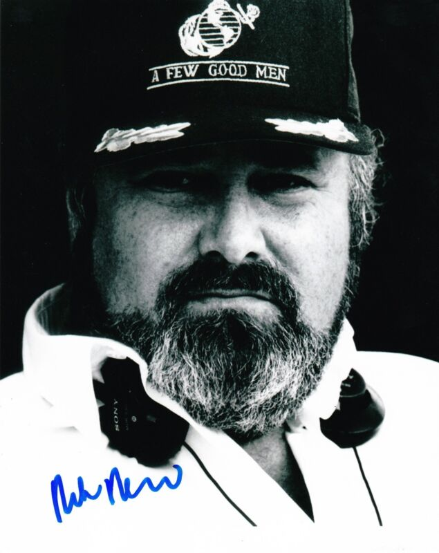 ROB REINER SIGNED 8X10 PHOTO AUTHENTIC AUTO ALL IN THE FAMILY MEATHEAD COA B