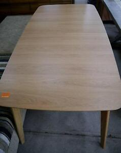 New Timber Scandi Danish Extension Leaf Dining Table Melbourne CBD Melbourne City Preview