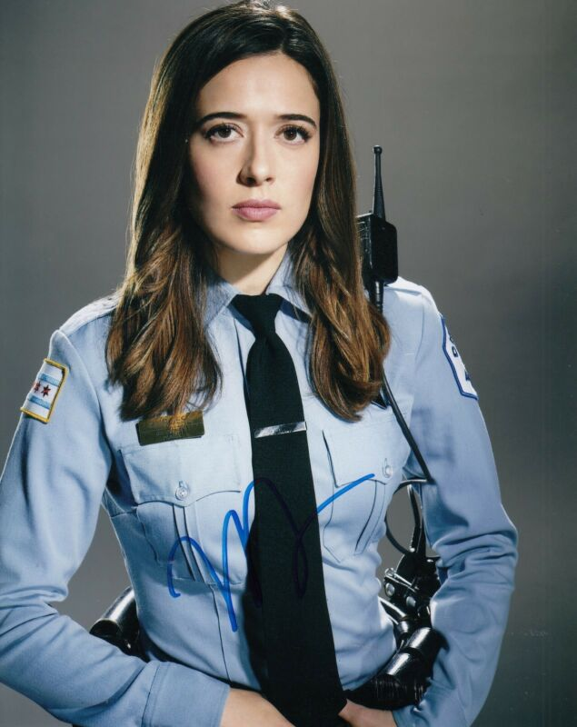 MARINIA SQUERCIATTI signed (CHICAGO P.D) *KIM BURGESS* 8X10 photo W/COA